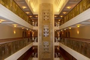 Вид при выходе из лифта в Superior Golf & Spa Resort
