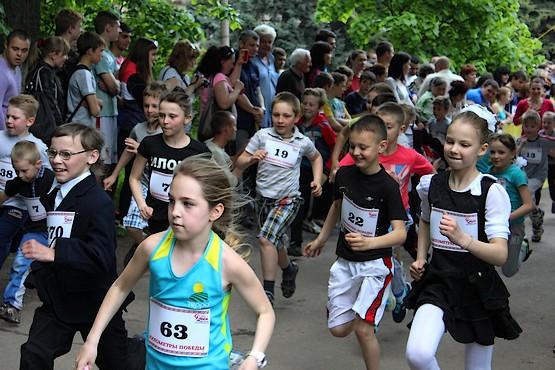 7-й легкоатлетический пробег в Борках