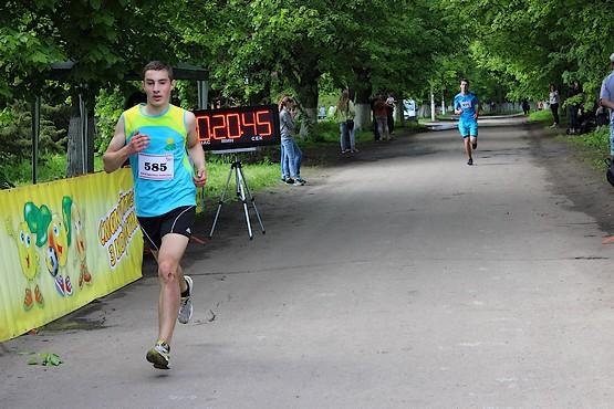 Финиш на 5 километров