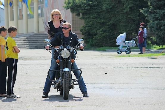 Покатушки на мотоцикле