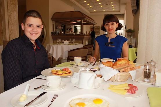 Завтрак в ресторане Lobby Lounge