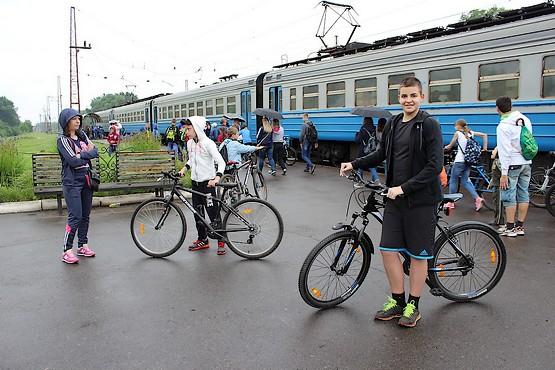 На железнодорожной станции в Беляевке