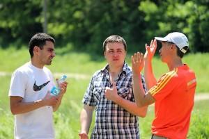 Участники Zmiiv treil в ожидании награждения победителей