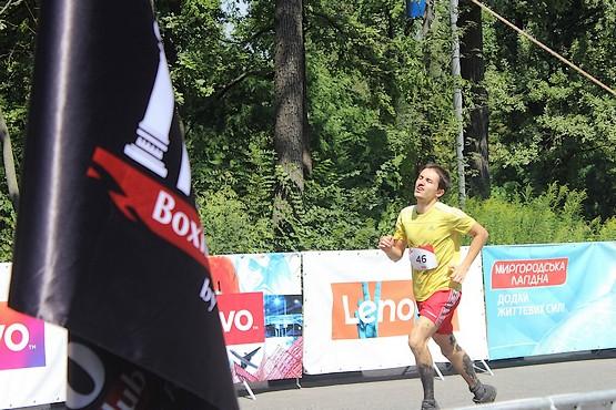 Финиш на Kharkiv Trail 2016