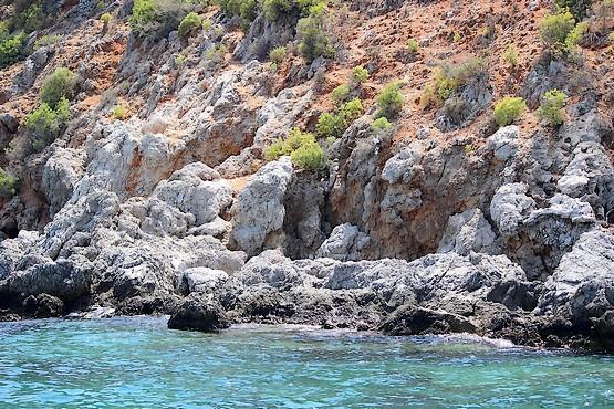 Живописный берег Турции