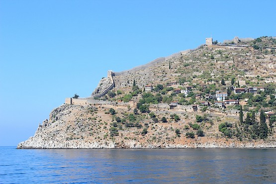 Вид на поселение в крепости