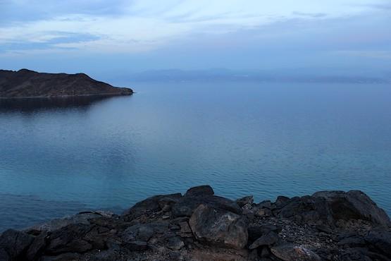 Вид со скалы у Красного моря