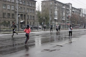 Фотография с пробега по центру Харькова
