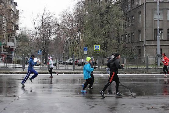 Бег по Харькову