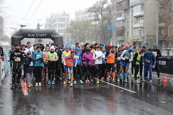 За миг до старта на Kharkiv City Run 2016