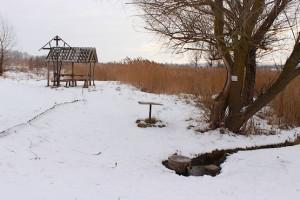 Зима у освященного источника