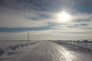Дорога как стекло