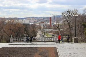Фотограф за работой в Харькове