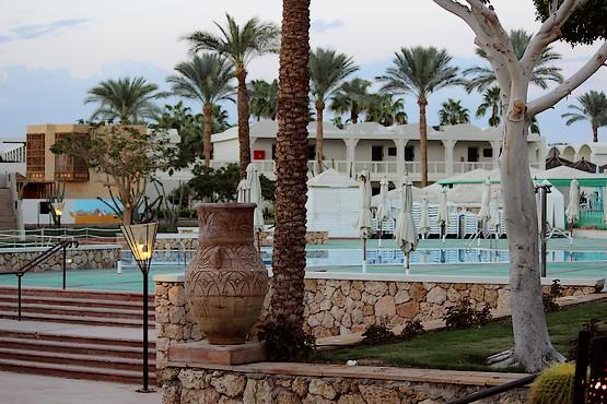 Вечер в отеле у Красного моря в Египте