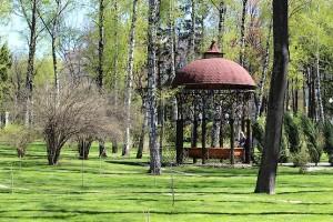 Беседка в парке Горького в Харькове