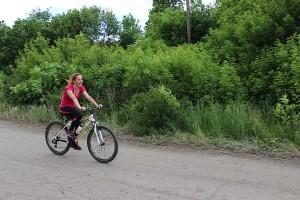 С ветерком на велогонке