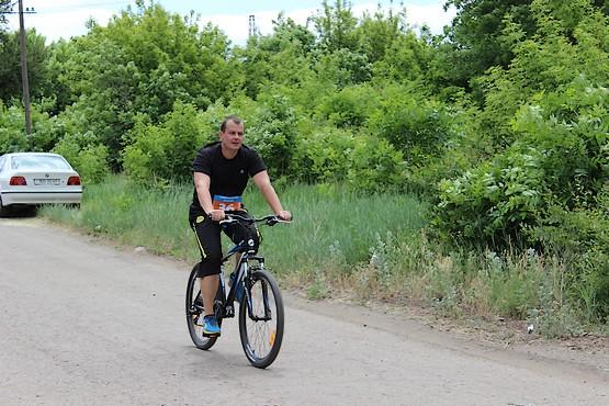 Велогонка радует