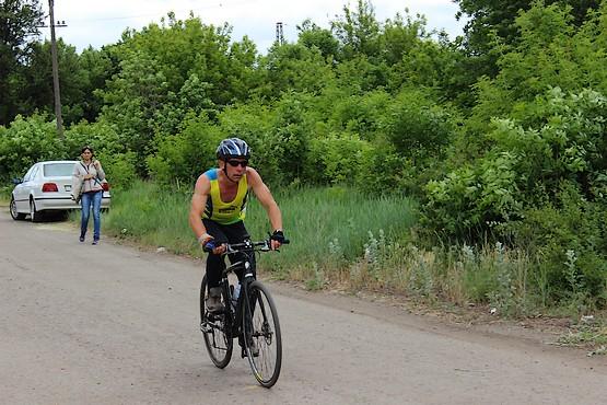 Велогонка в разгаре