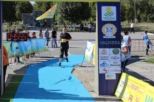 Финиширую преодолев дистанцию в 10 километров