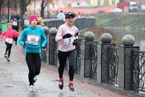 Бег по набережной в Харькове