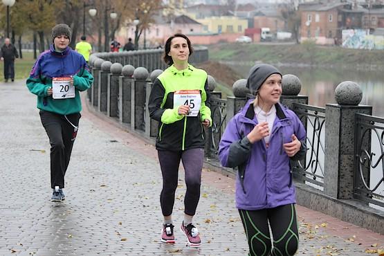Бег вдоль набережной на 4F Kharkiv Riverside Run