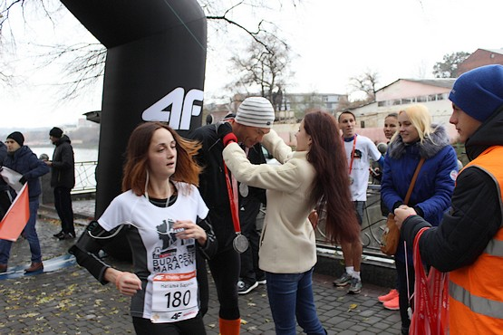 Медали на финише 4F Kharkiv Riverside Run