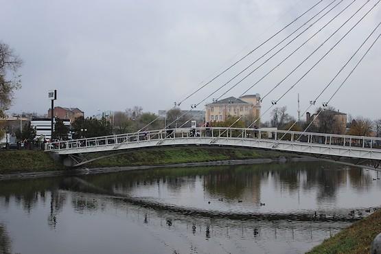 Мост влюбленных в Харькове