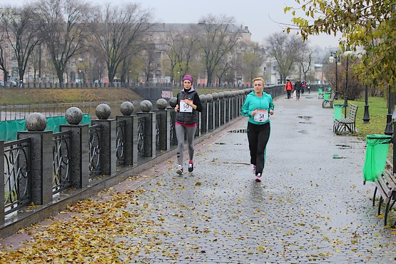 На забеге 4F Kharkiv Riverside Run