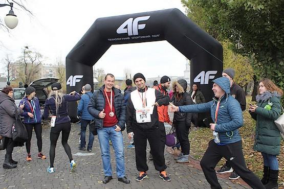 Всё пропитано позитивом на 4F Kharkiv Riverside Run