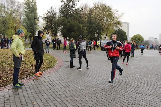 За миг до финиша на 4F Kharkiv Riverside Run