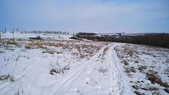 На пути к Алексеевке