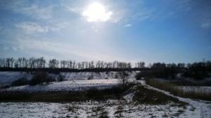 Зима радует видами на пробежке