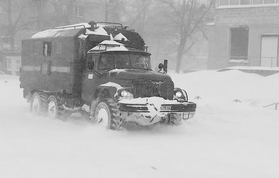 Таким машинам снег не страшен