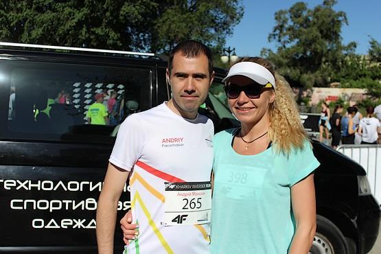 Андрей Манохин и Ольга Донченко