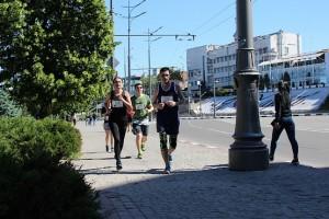 Бег по городу на 4F Kharkiv Riverside Run 2018 Spring