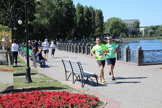 Бег у воды на 4F Kharkiv Riverside Run