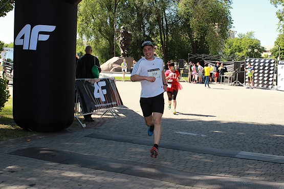 Финиш на позитиве 4F Kharkiv Riverside Run 2018 Spring