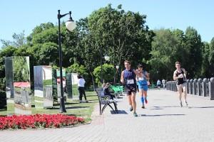 Красота вокруг на дистанции 4F Kharkiv Riverside Run 2018 Spring