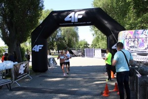 На дистанции в 10 км 4F Kharkiv Riverside Run 2018 Spring