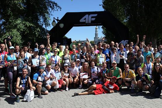 Общее фото участников 4F Kharkiv Riverside Run 2018 Spring