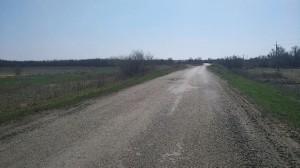По дороге между двумя районами