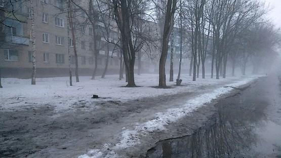 Говорят, что туман к изменению погоды
