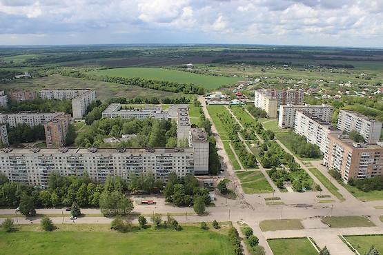 Парк между микрорайонами