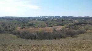 Вид на город Первомайский