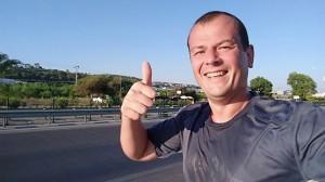 Бегу на позитиве по Средиземноморью