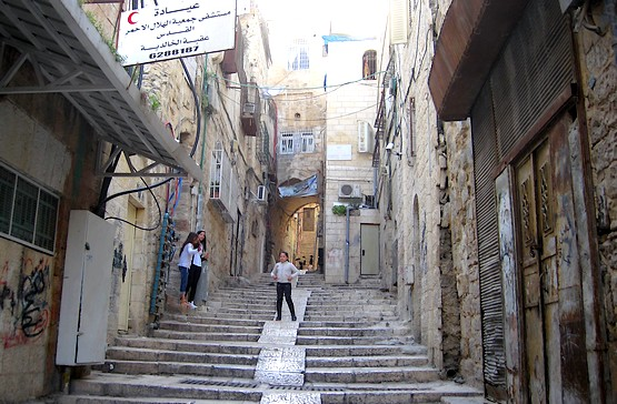 Дети играют на улицах Иерусалима