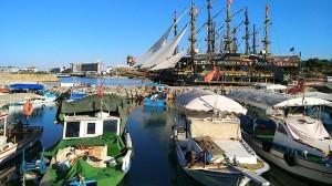 Яхты у Средиземного моря