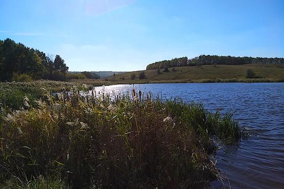 Пейзаж с октябрьской пробежки