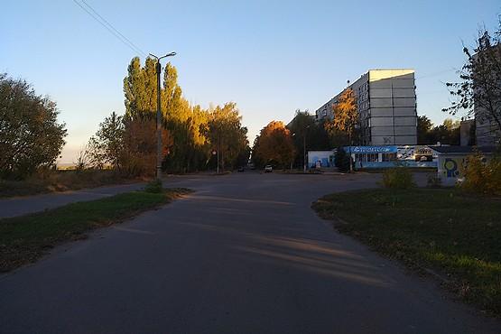 Последний километр пробежки по городу