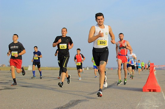 Прям не бегу, а лечу на Kharkiv Airport Run 2018